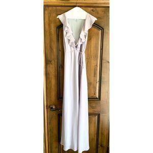 Tobi Lavendar Maxi Wrap Dress